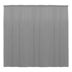 10 Ft Wide by 10 Ft High Polyester Backdrop Drape